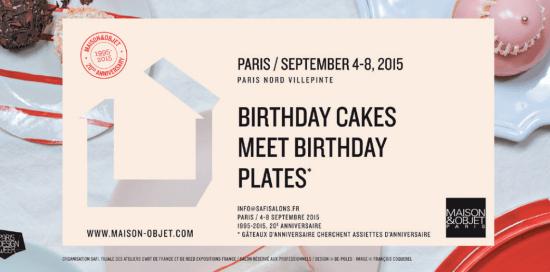 Forum d'Inspirations Maison&Objet Paris Septembre 2015