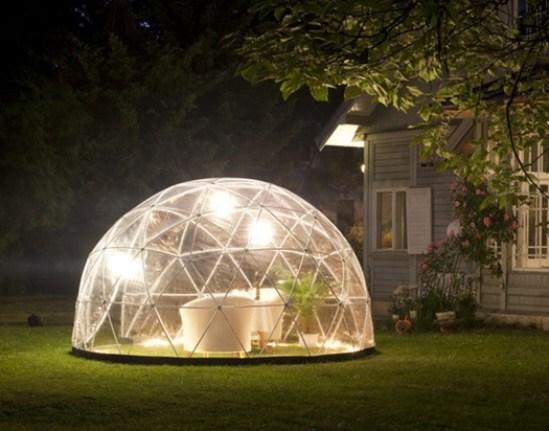 Garden igloo une serre design pour votre jardin - Igloo de jardin ...