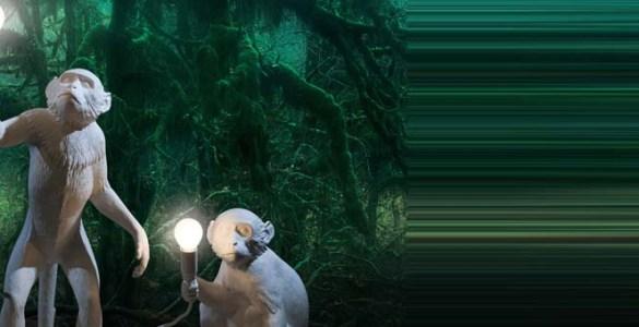 Seletti lampe Monkey