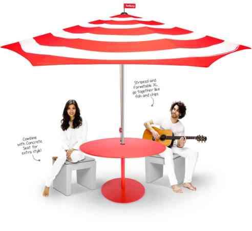 Le parasol Stripesol de Fatboy 1