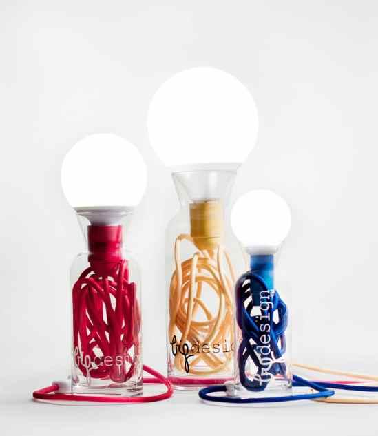Les lampes originales et minimalistes de Big Design Studio