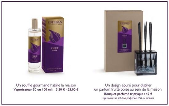 Figue Noire parfum d'ambiance Estéban