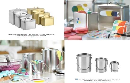 HEMSMAK collection limitée IKEA boites