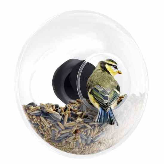 mangeoire à oiseaux ronde fenêtre Eva Solo