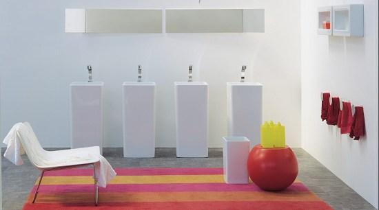 Une salle de bain design grâce aux vasques