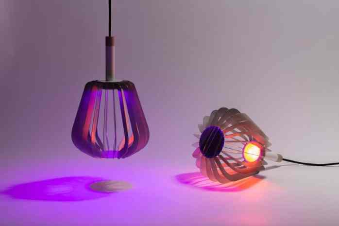 Lampes connectées : La lampe connectée Houat by Puzzle Lab