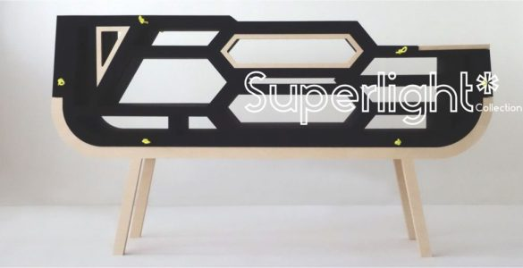 Mala leche Design Superlight Elisabeth Baeza