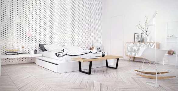 Décoration de chambre Scandinave