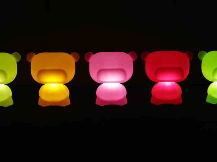 Lampes designs Jumpie lampe ourson Pure Slide 1