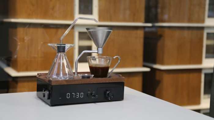 Barisieur réveil machine à café