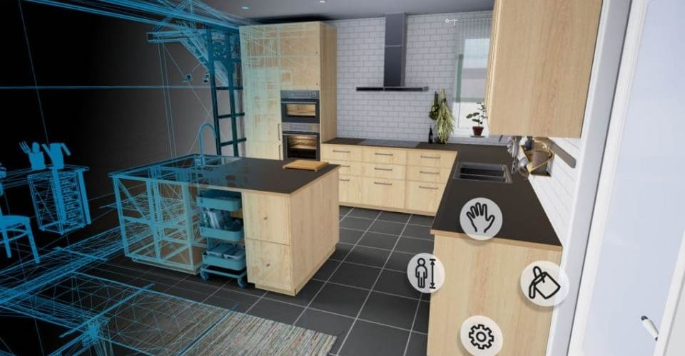 IKEA VR application réalité virtuelle