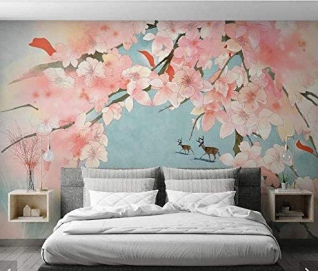 Les tendances de papier peint imprimés à fleur