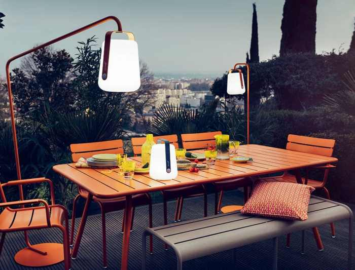 Lampes designs :lampe sans fil Balad Tristan Lohner Fermob 3