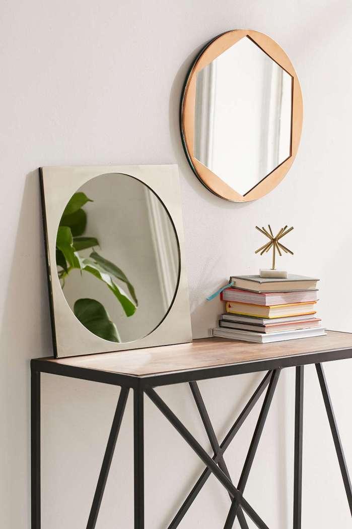 miroirs géométriques à accrocher