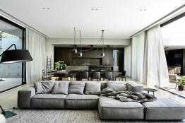 décoration grisesimpliste