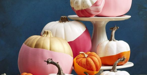 Idées déco pour Halloween conseils pour peindre vos citrouilles