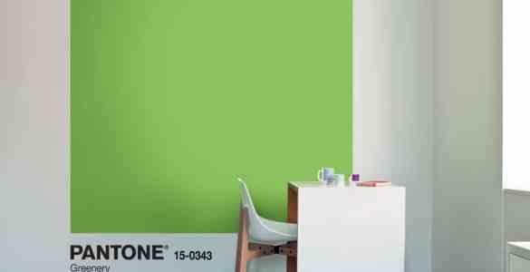 Greenery 15-0343 - Couleur Pantone de l'année 2017