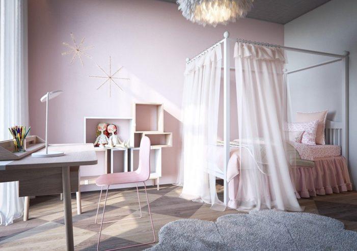 Les chambres d'enfant à la décoration sobre sont aussi appréciées