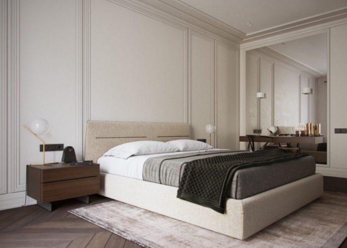 La chambre à coucher principale
