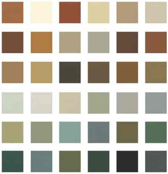 Choisissez des couleurs rustiques