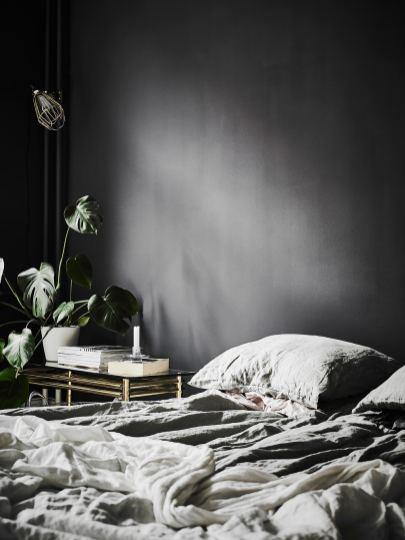 intérieur scandinave noir et blanc 9