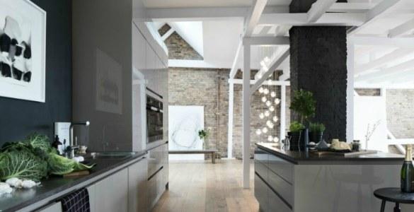 penthouse minimaliste à la décoration masculine et élégante