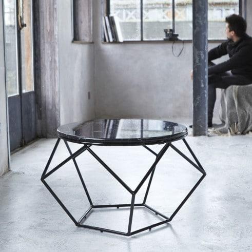 Tables basses en marbre : Hexxed