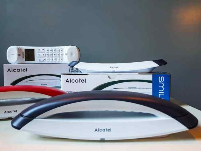 Alcatel Smile telephone design 3