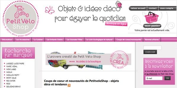 Boutiques déco généralistes - Petit Velo Shop