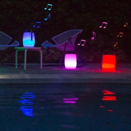 Keria dévoile Nomad, une lampe baladeuse led sans fil multicolore et sonore