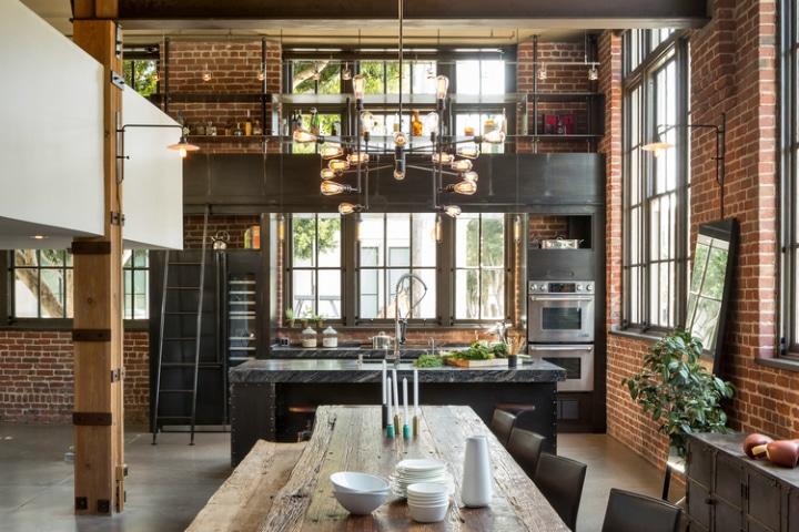 cuisine design et fonctionnelle