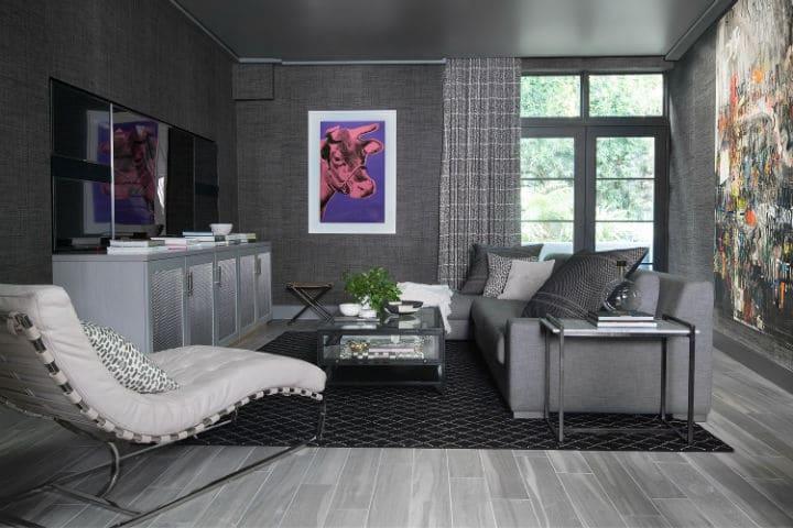 Un salon comme dans une vraie maison