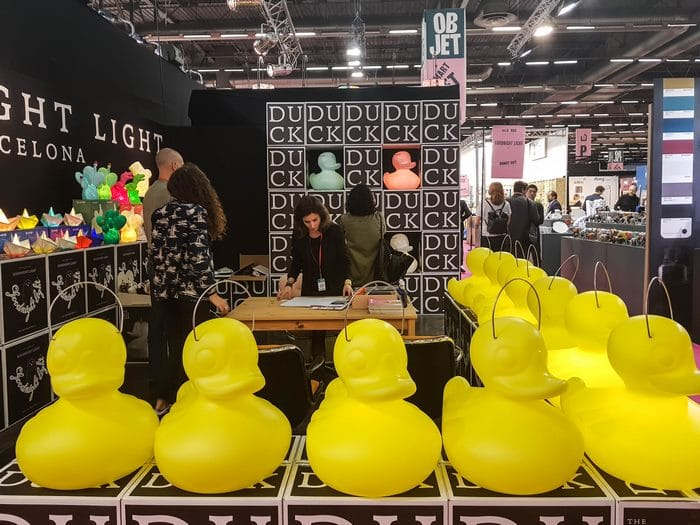 Maison&Objet Septembre 2017 Goodnight light Duck Duck