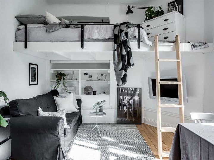 Genial Petit Studio Scandinave