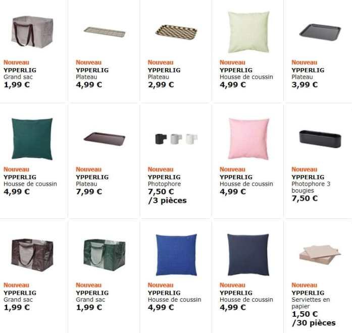 collection Ypperlig – Ca y est la IKEA x Hay