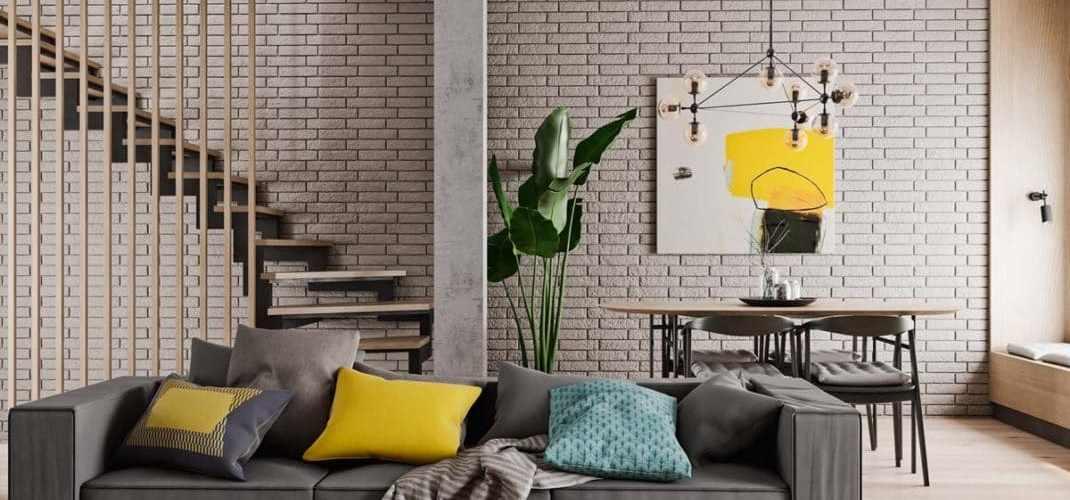 Des touches de couleurs pour renforcer une décoration neutre