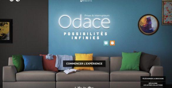 Odace - Une gamme de prises et interrupteurs design signée Schneider Electric