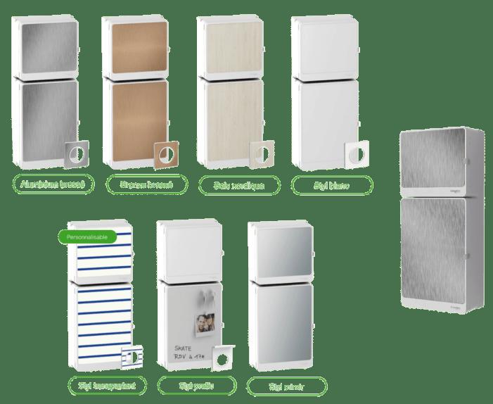 Resi9 - Le tableau électrique design, discret et connecté de Schneider Electric