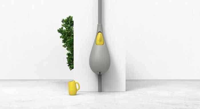 Raindrop collecteur de pluie design Studio Bas van der Veer