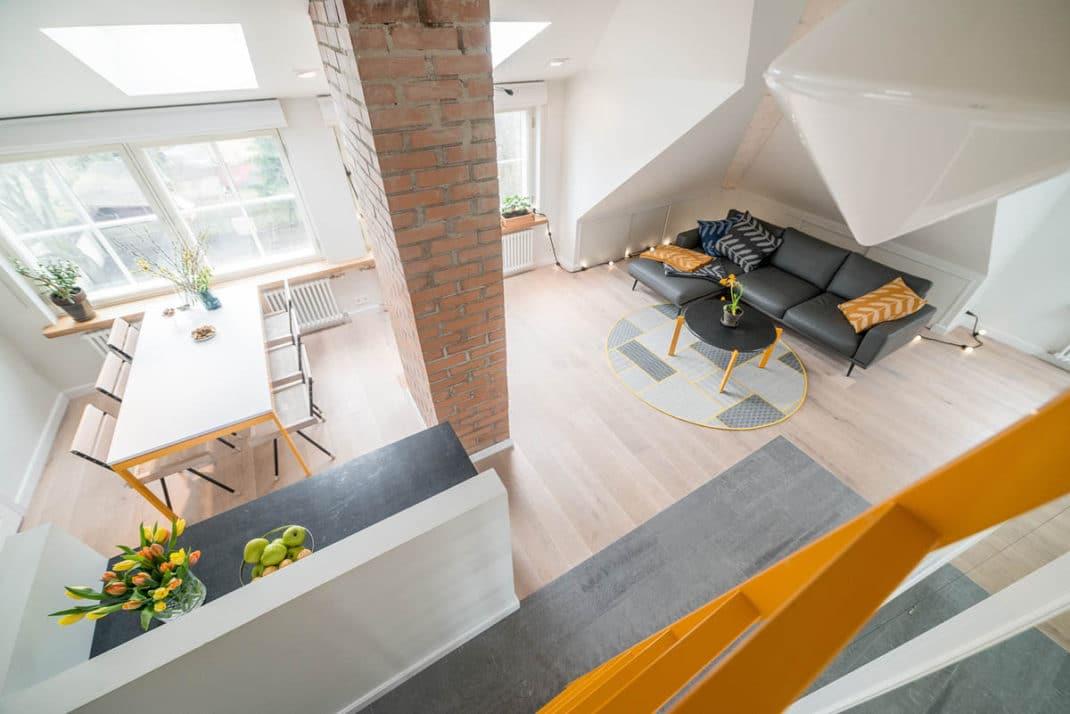 Appartement sous les toits - Astuces et idées déco !