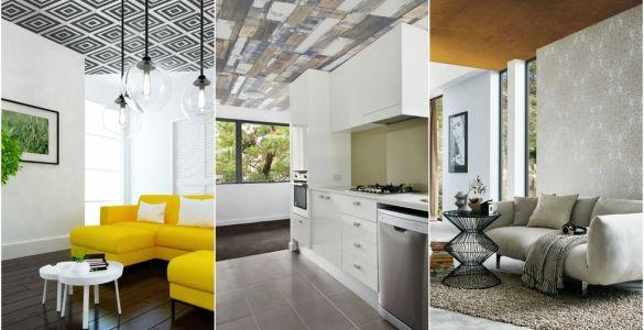 Et si vous posiez du papier peint au plafond