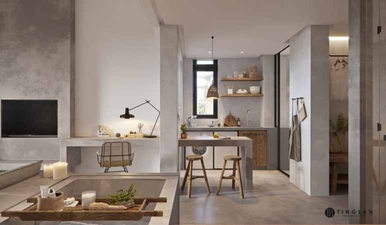 appartement Tribal Chic