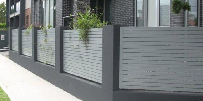 choisir une clôture de jardin aluminium