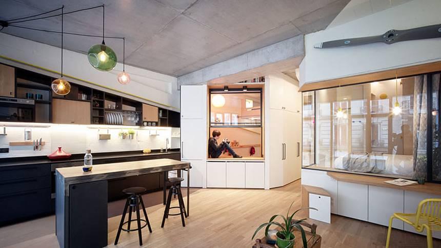 Comment transformer un garage en un magnifique loft