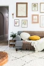 maison lumineuse, minimaliste mais spacieuse