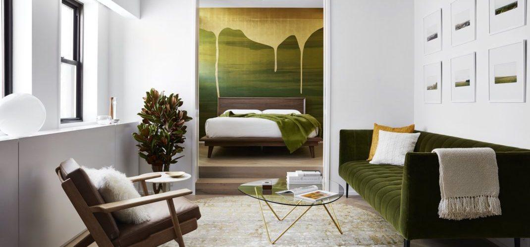 Stadt Architecture transforme un studio en un luxueux appartement