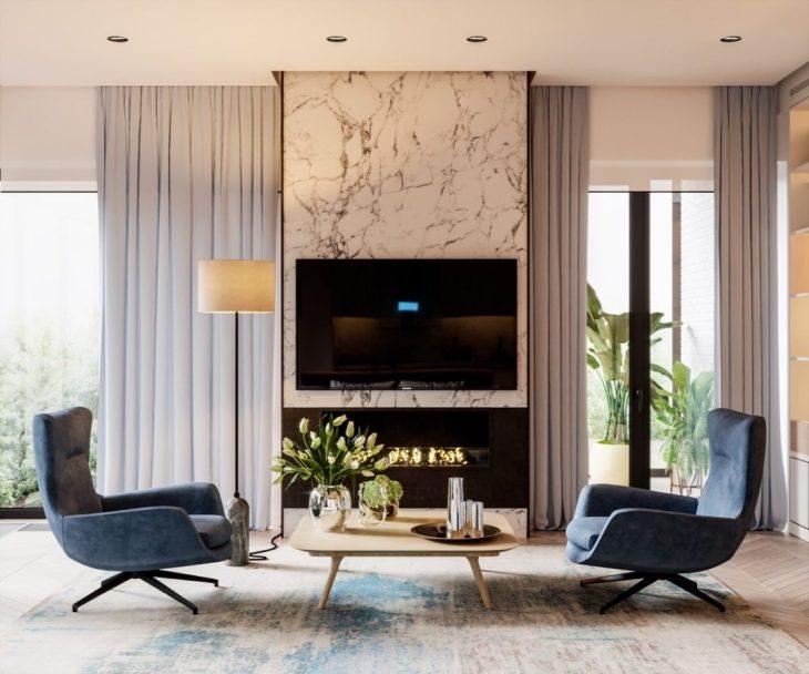 Design Filosofia dévoile un intérieur à la décoration reposante 1