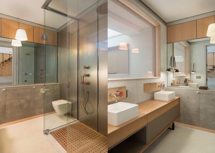 salles de bains de style industriel 15
