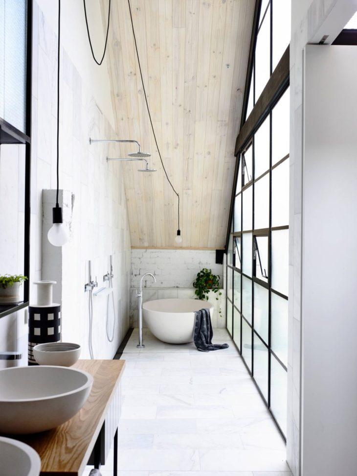salles de bains de style industriel 25