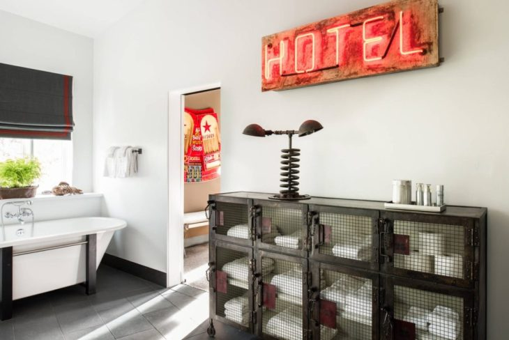 salles de bains de style industriel 43